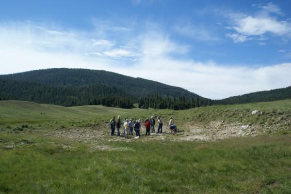 Exploring an ancient lake bed in Valles Caldera